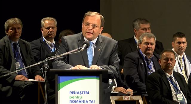 Gheorghe Flutur la Congresul Extraordinar al PNTCD